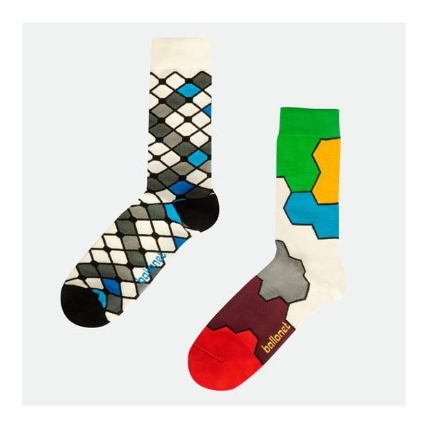 2 páry ponožek Molecule, velikost 41-46