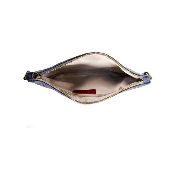 Kožené psaníčko Catarina, šedá