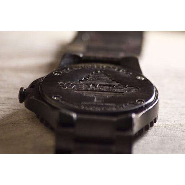 Dřevěné hodinky Date Chocolate