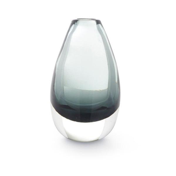 Zelená priehľadná váza A Simple Mess Hue, výška 9cm