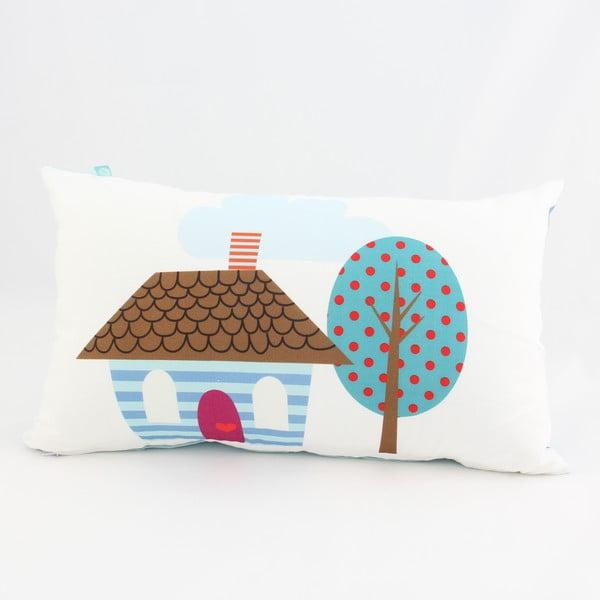 Bavlněný povlak na polštář Mr. Fox Happy Homes 50x30cm