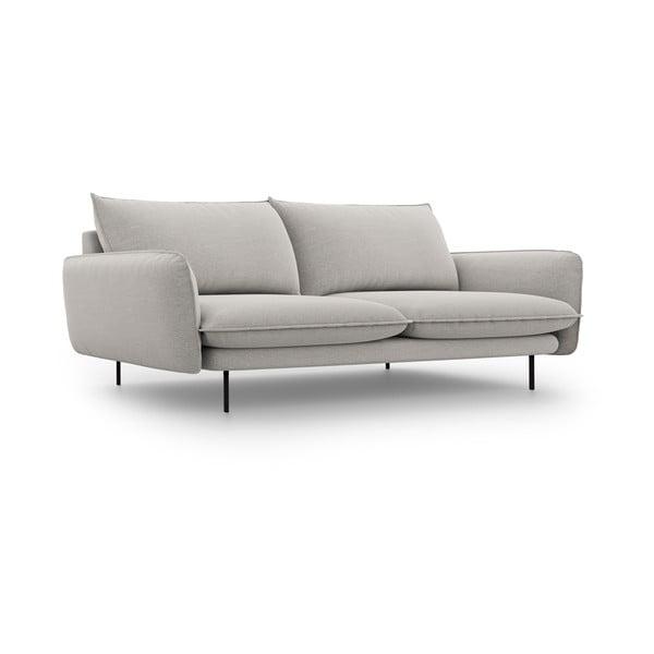 Světle šedá pohovka Cosmopolitan Design Vienna,šířka230 cm