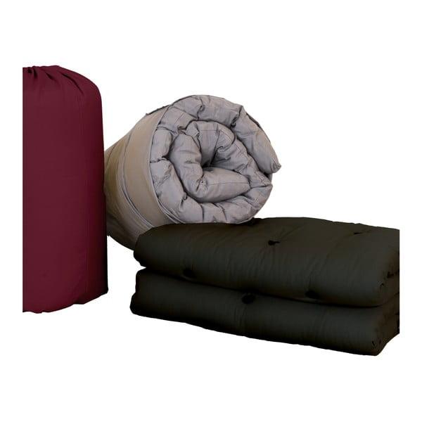 Futon/postel pro návštěvy Karup Bed In a Bag Black
