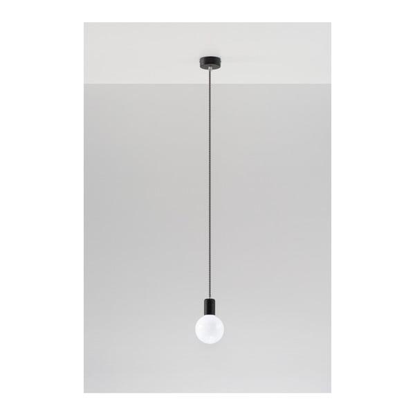 Černobílé stropní svítidlo Nice Lamps Bombilla