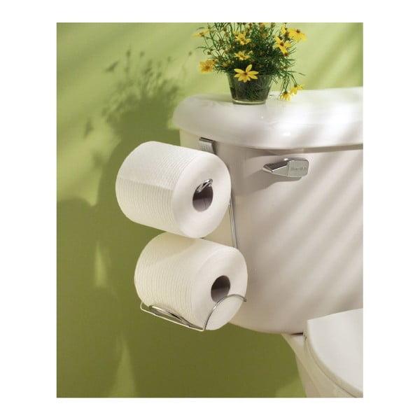 Ocelový držák na toaletní papír InterDesign Classico