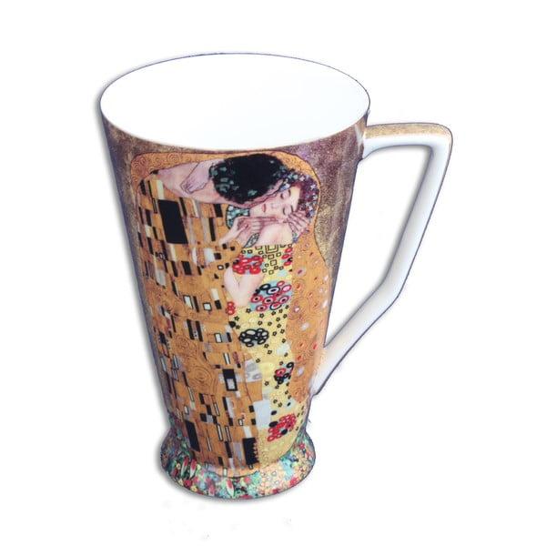 Gustav Klimt - hrnek Kiss, 0,5 l