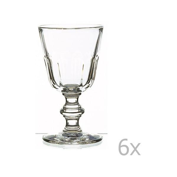 Zestaw 6 szklanek La Rochère Périgord, 220 ml
