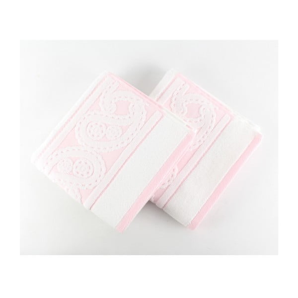 Sada 2 ručníků  Hurrem White, 50x90 cm