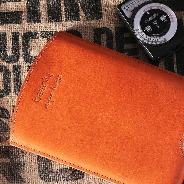 Kožený obal na iPad mini Cognac