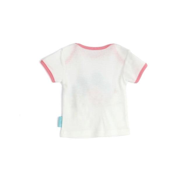 Dětské tričko Little Birds s krátkým rukávem, vel. 6 až 9 měsíců