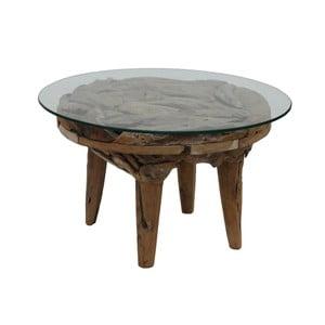 Konferenční stolek  z teakového dřeva HSM collection Foe, ⌀60cm