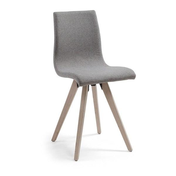 Šedá jídelní židle La Forma Una
