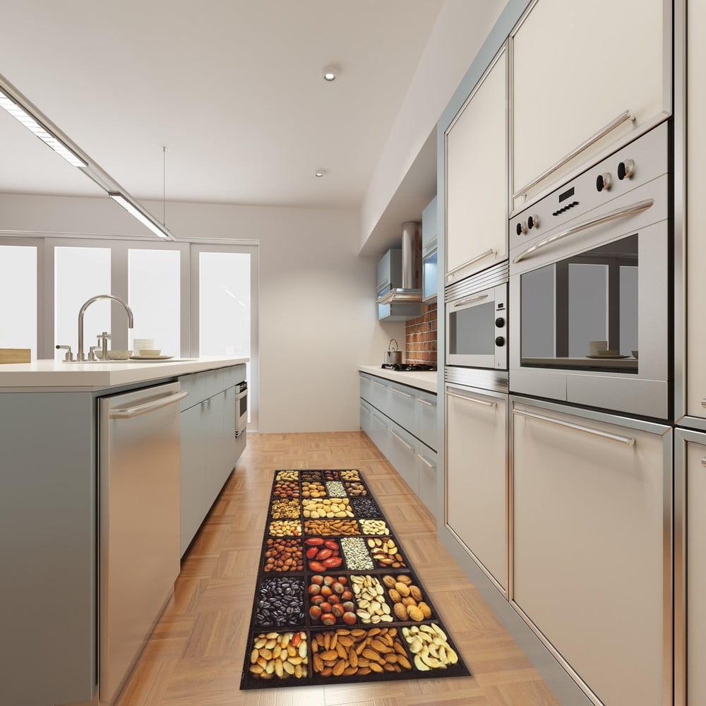 Vysoce odolný kuchyňský běhoun Webtappeti Semi, 60 x 150 cm
