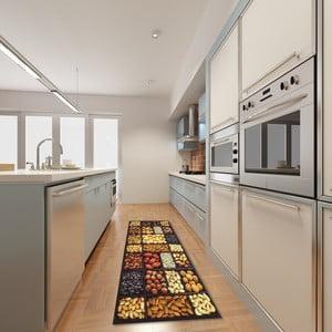 Vysoce odolný kuchyňský koberec Webtappeti Semi, 60x110 cm