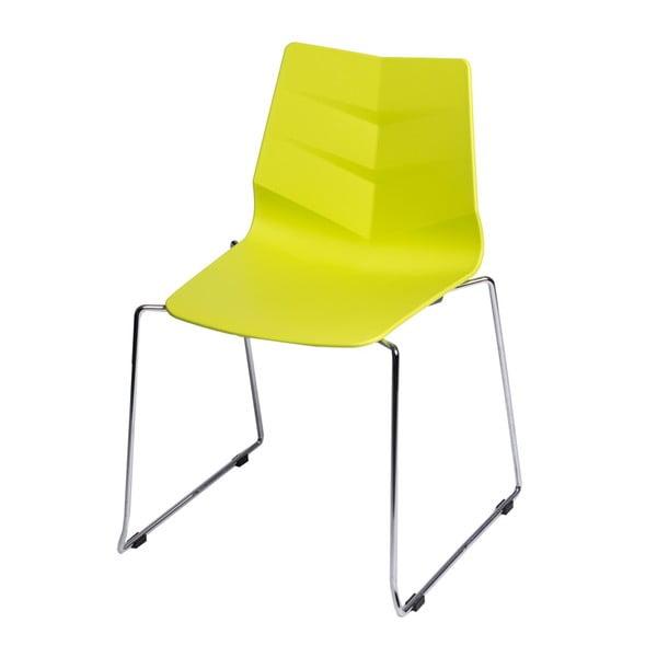 Sada 2 limetkových židlí D2 Leaf SL