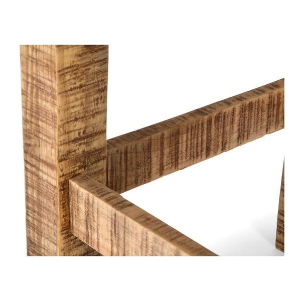 Stolička z borovicového dřeva SOB Desi