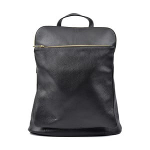 Černý kožený batoh Isabella Rhea Turo