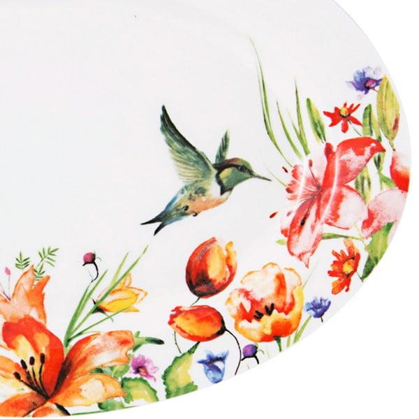 Talíř Krauff Colibri Oval, 22 cm