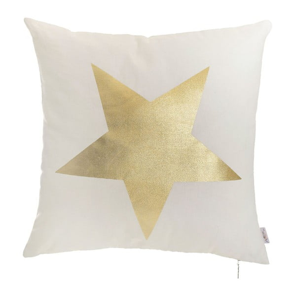 Povlak na polštář Apolena Golden Star, 45x45cm