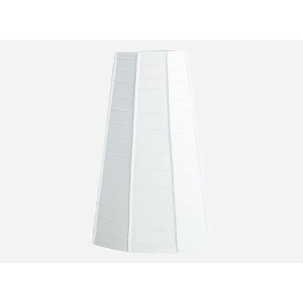 Váza Weave, white, 20 cm