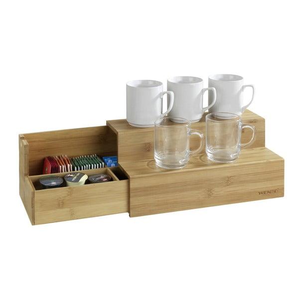 Suport din bambus pentru accesorii de cafea şi ceai Wenko