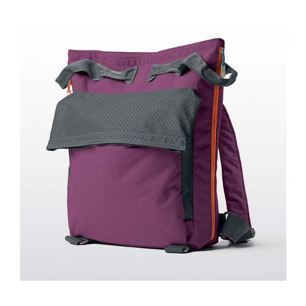 Plážová taška/batoh Tane Kopu 28 l, fialová