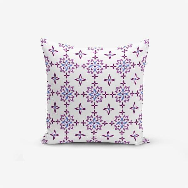 Față de pernă din amestec din bumbac, Minimalist Cushion Covers Flower Duro, 45 x 45 cm