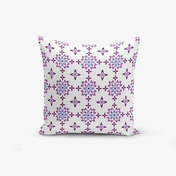 Flower Duro pamutkeverék párnahuzat, 45 x 45 cm - Minimalist Cushion Covers