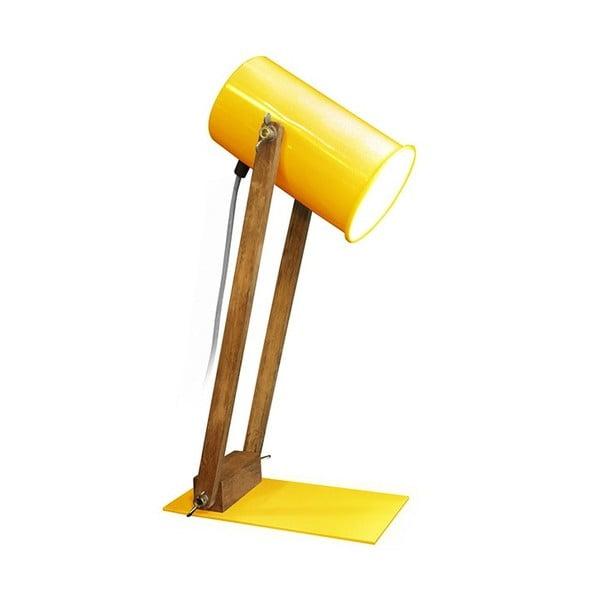 Stolní lampa Baltic 45 cm, žlutá