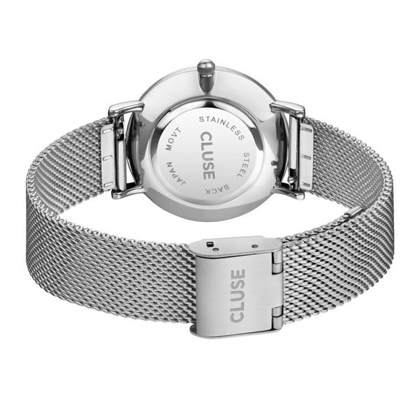 Hodinky Minuit Mesh Silver/White