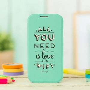 Obal na Samsung Galaxy S4 Mr. Wonderful Love