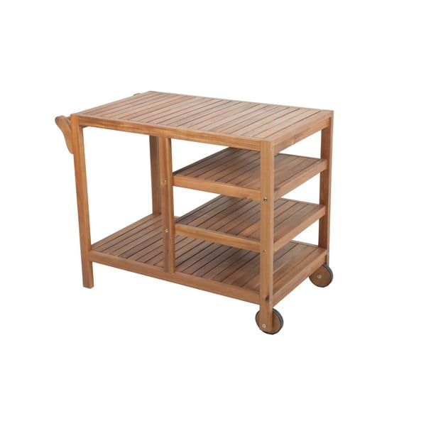 Zahradní odkládací stůl zakátového dřeva ADDU Akron