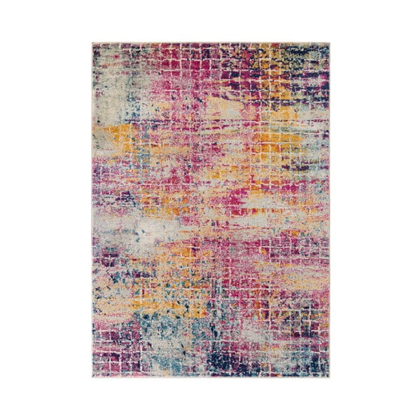 Růžový koberec Flair Rugs Urban Abstract, 100 x 150 cm