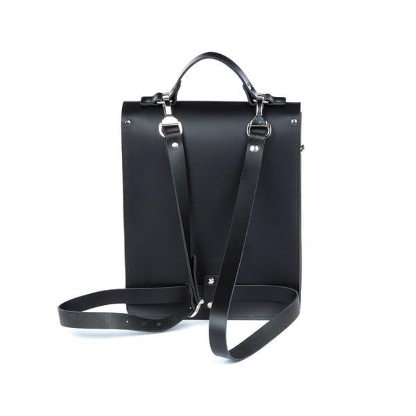 Kožený batoh Howson Black/Chestnut