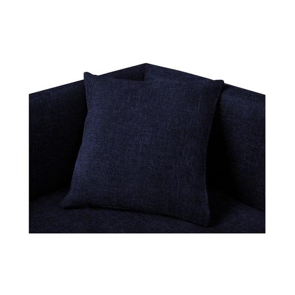 Tmavě modrá pohovka pro psy se 2 dekorativními polštářky Marendog Princess