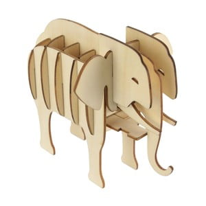 Dřevěné 3D puzzle Le Studio Elephant