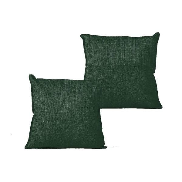 Green Moss párnahuzat, 45 x 45 cm - Linen Couture