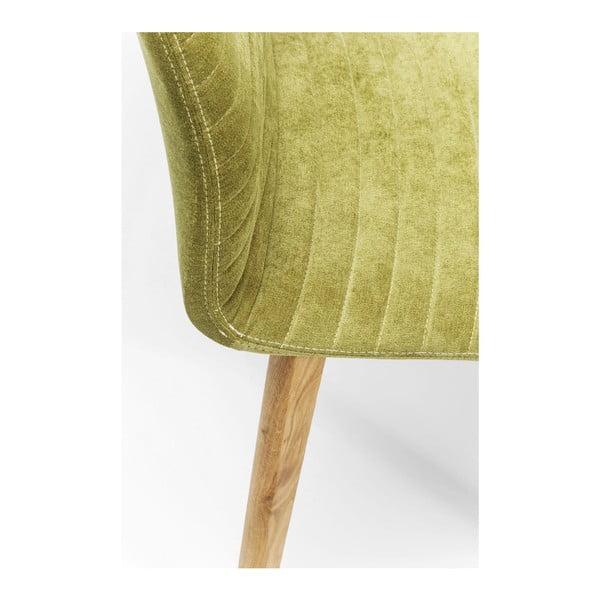 Set 2 scaune Kare Design Lara, verde deschis
