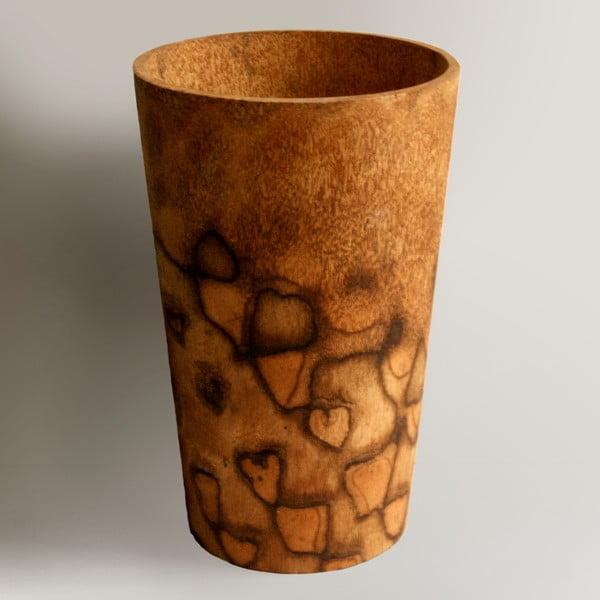 Palmová váza Wood, 34 cm