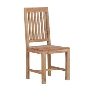 Jídelní židle z akáciového dřeva SOB Aska