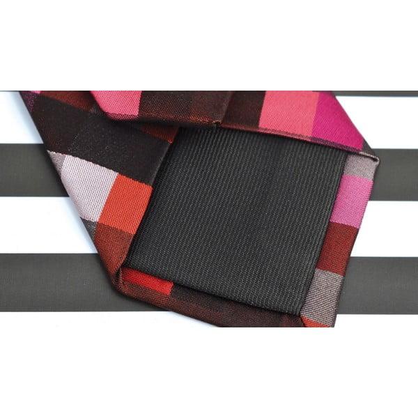 Hedvábná kravata Random Red