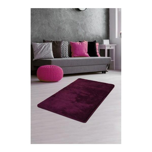 Ciemnofioletowy dywan Milano, 120x70 cm