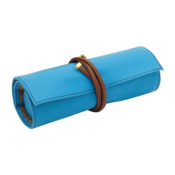 Šperkovnice Ascot Roll Azure Blue, 20x8x6 cm