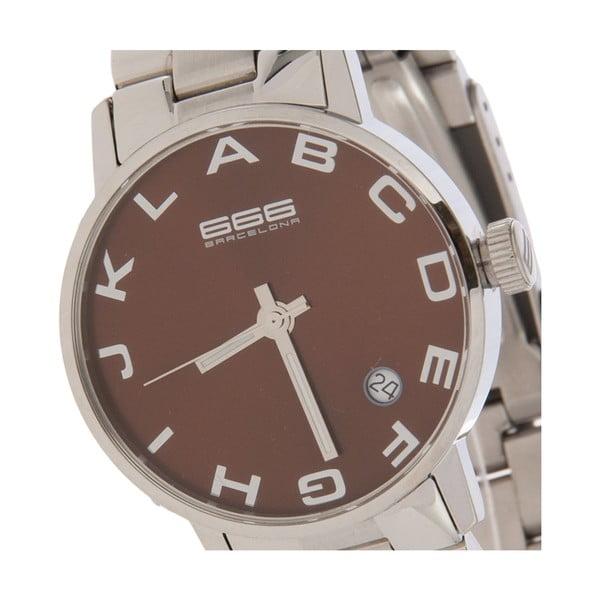 Dámské hodinky Alphabet Steel Lady Brown