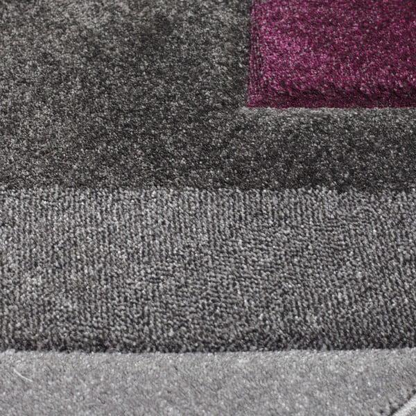 Covor Flair Rugs Nimbus Purple, 120 x 170 cm, gri-mov