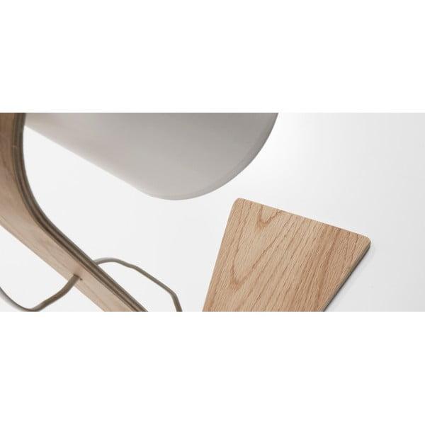 Bílá stolní lampa La Forma Percy