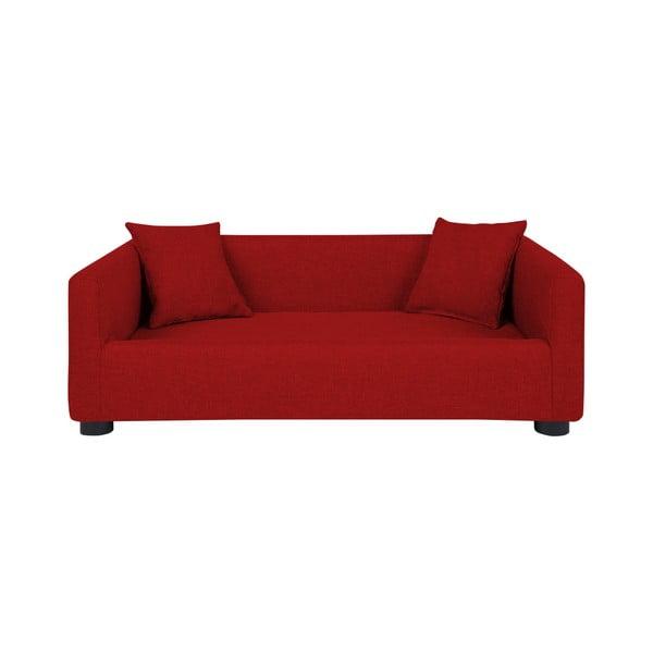 Canapea cu 2 perne decorative pentru câini Marendog Princess, roșu