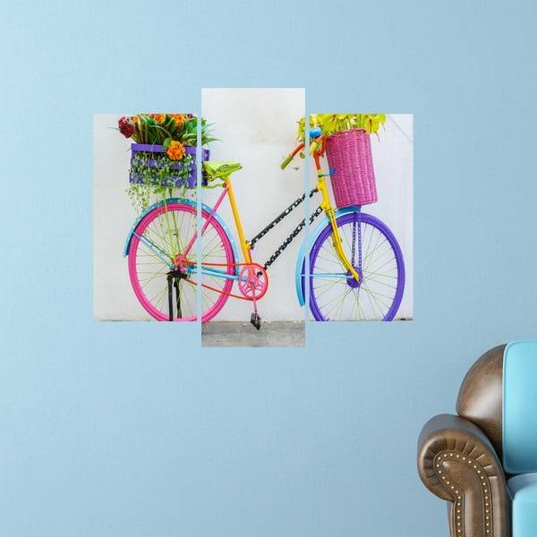 3dílný obraz Bike