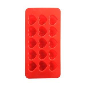 Červená silikonová forma ve tvaru srdíček Mason Cash Chocolate