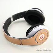 Dřevěný skin pro sluchátka Beats Studio, třešeň